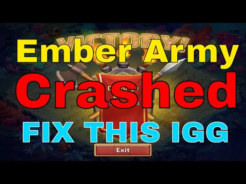 Castle Clash Ember Army Crashed: Fix This IGG