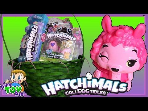 Hatchy Easter! A Big Easter Basket Full Of Hatchimals