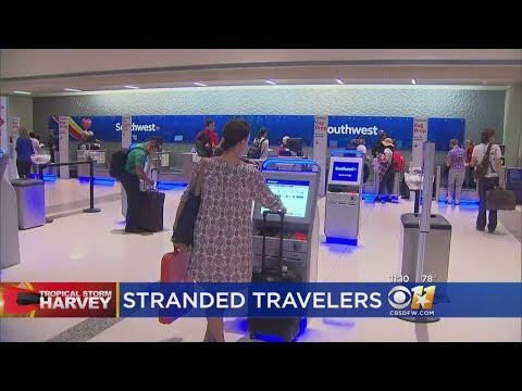 Grounded Houston Flight Traffic Affecting Thousands