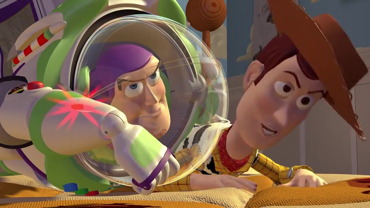 Toy Story Woody Is Jealous Of Buzz Youtube