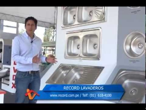 Novedades en lavaderos record youtube for Record lavaderos