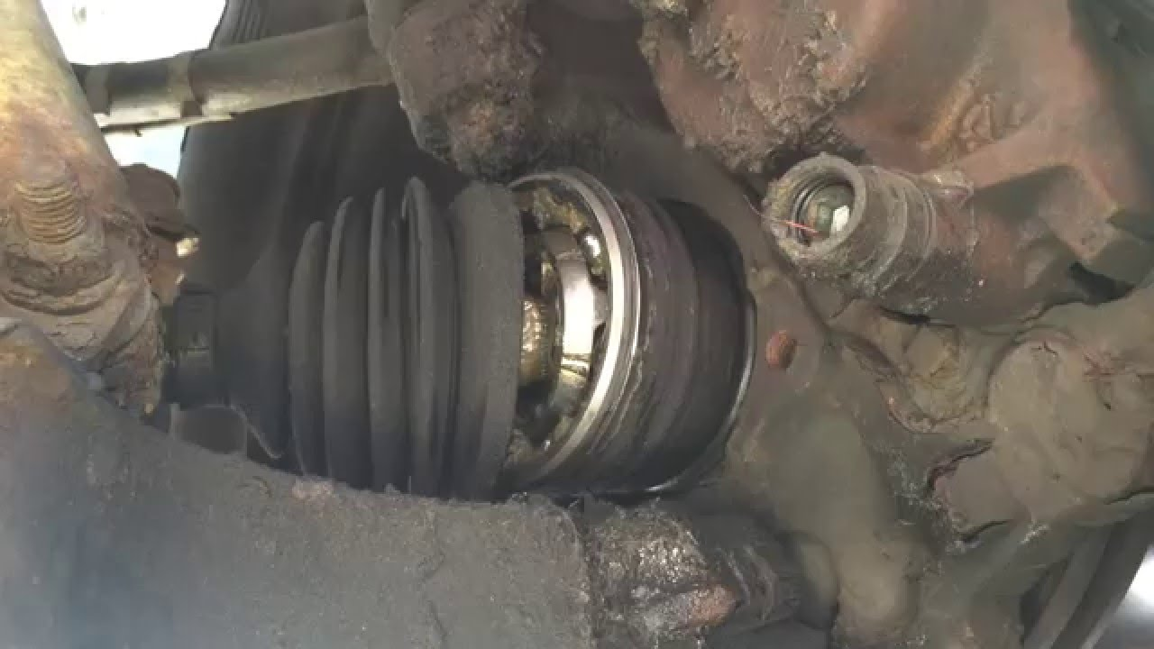 New CV Axle Installation And Cost