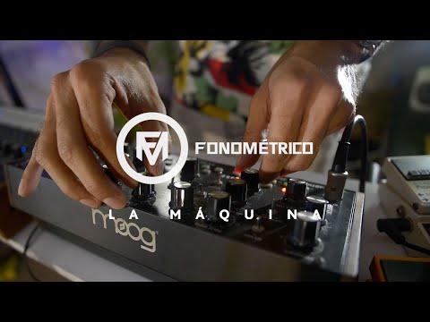 FONOMÉTRICO – LA MÁQUINA (LIVE SESSION) – Repost por RAFO