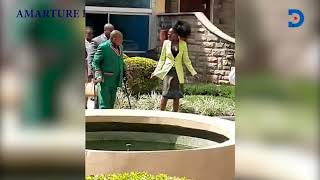 Drama as Akothee enters Parliament dressed in a 'skimpy' skirt