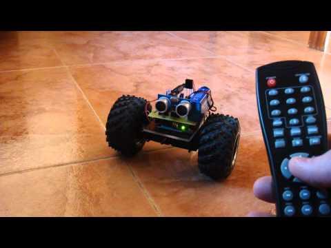 "Robot IR ""The Beast"" con Arduino"