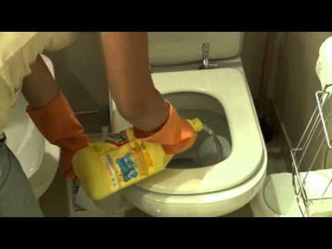 Cómo fregar el baño - YouTube