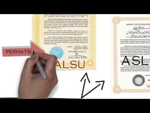Identifikasi Buku Nikah Palsu Youtube