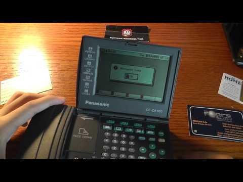 Panasonic NeoFile Business Card Reader Review
