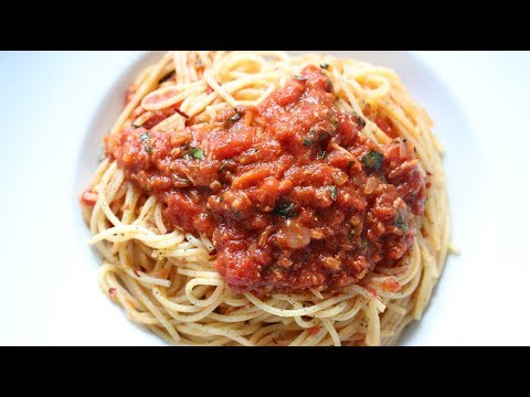 Roasted Garlic & Tomato Pasta Sauce Recipe