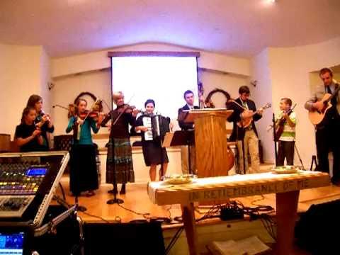 Galkin Evangelistic Team 23 minute IRISH CONCERT in Colchester, CT