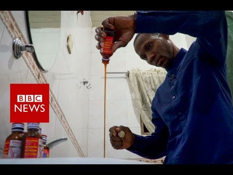 Chained up 'to cure cough-syrup addiction' - BBC News