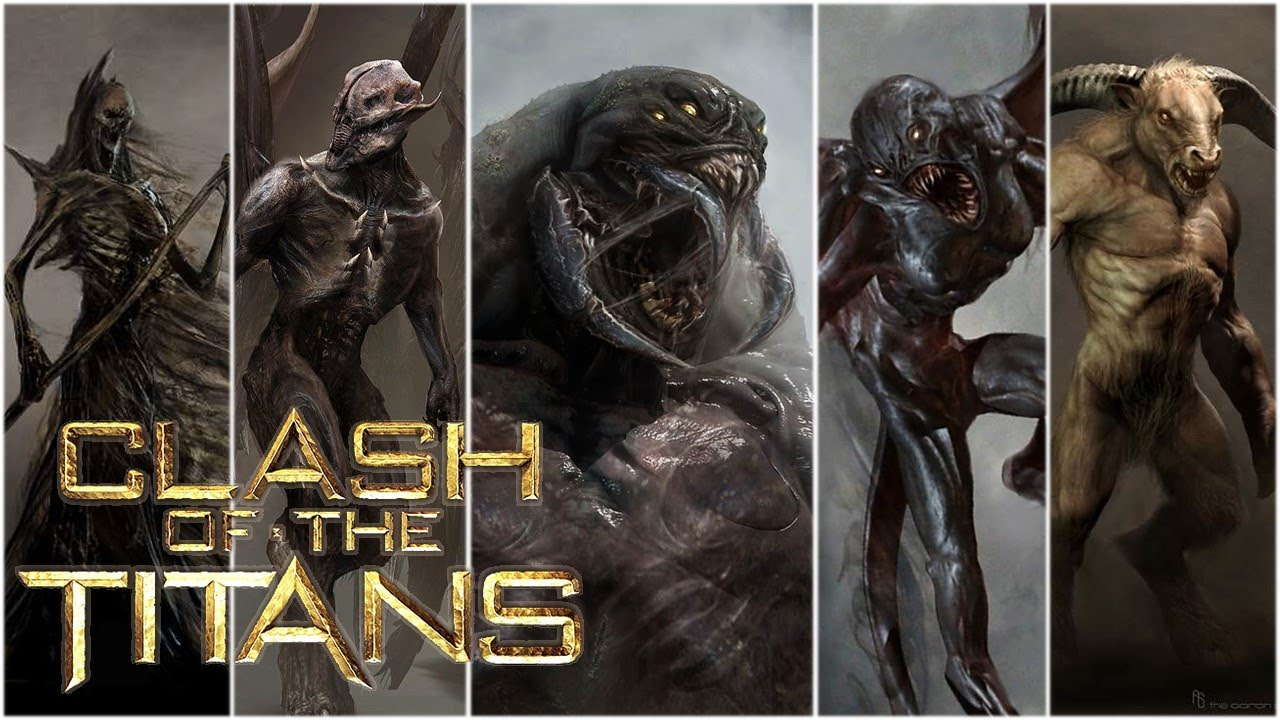 Download 15 Clash Of The Titans Creatures & Monsters Explained