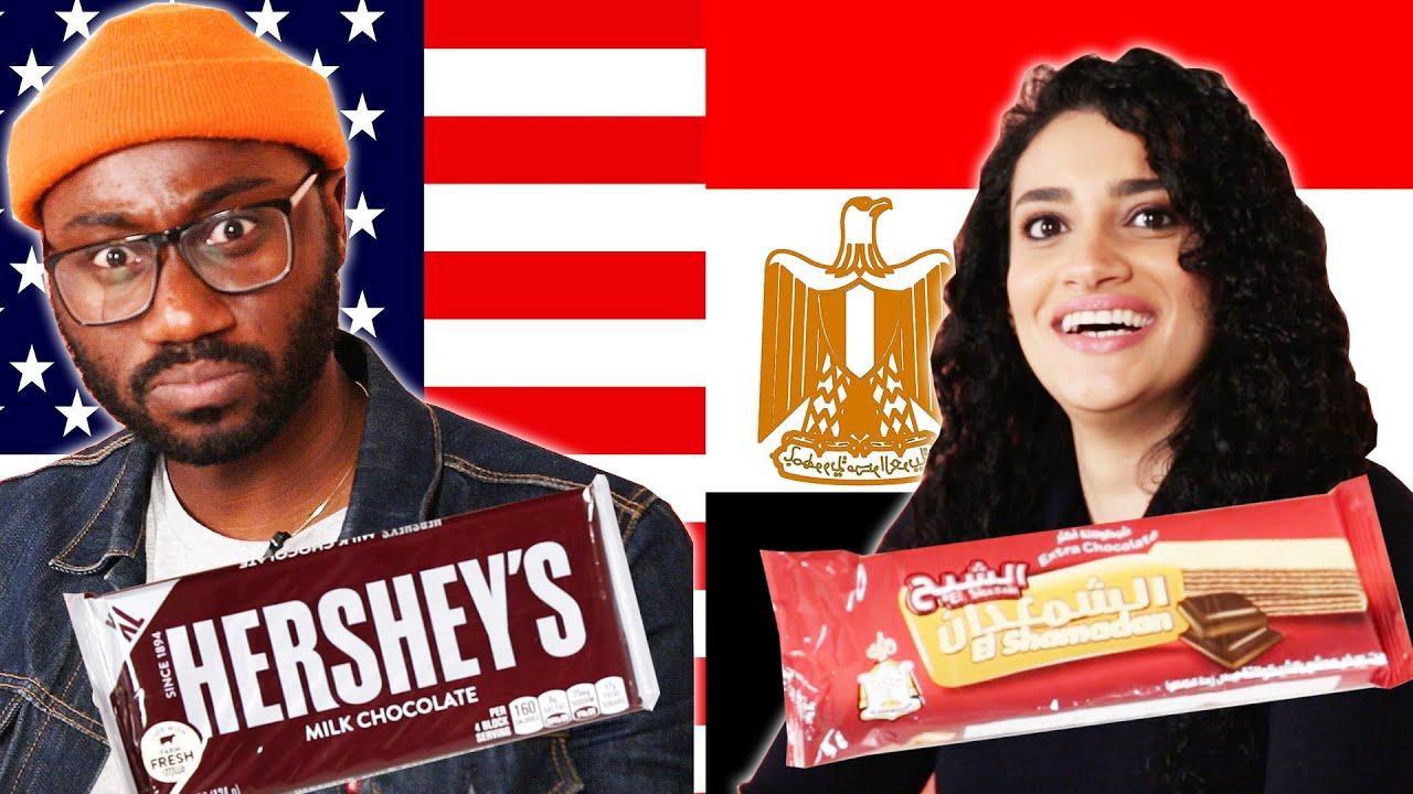Americans & Egyptians Swap Snacks