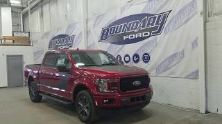 2018 Ford F-150 SuperCrew XLT 302A W/ 5.0L V8, 4WD Overview | Boundary Ford