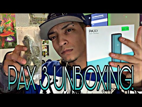 PAX 3 250$ WEED VAPE UNBOXING & SESH!!!?? #Pax3 #Stoned