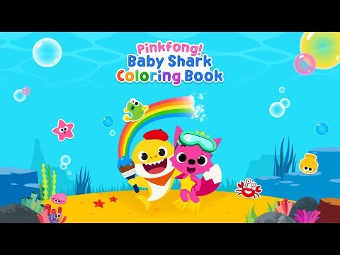 Pinkfong Baby Shark Coloring Book Apps On Google Play