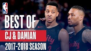 Best of Damian Lillard and C.J. McCollum | 2017-2018 NBA Season