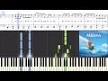 [Moana] Opetaia Foa'i & Lin-Manuel Miranda - We Know The Way (Finale) (Synthesia Piano Tutorial)