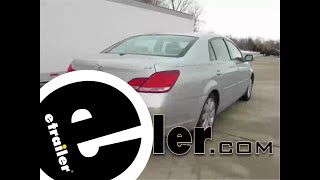 Trailer Hitch Installation - 2007 Toyota Avalon - Draw-Tite - etrailer.com