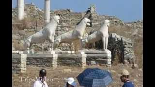 Greece Delos Island Mythology Adventure(The Delos island adventure near the Mykonos island in Greece., 2012-08-11T10:39:29.000Z)