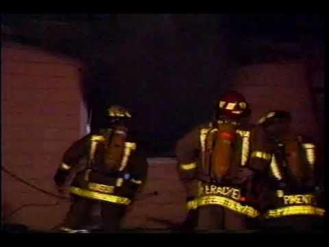 Menlo Park Firefighters at Station 2 Circa 1992 .wmv