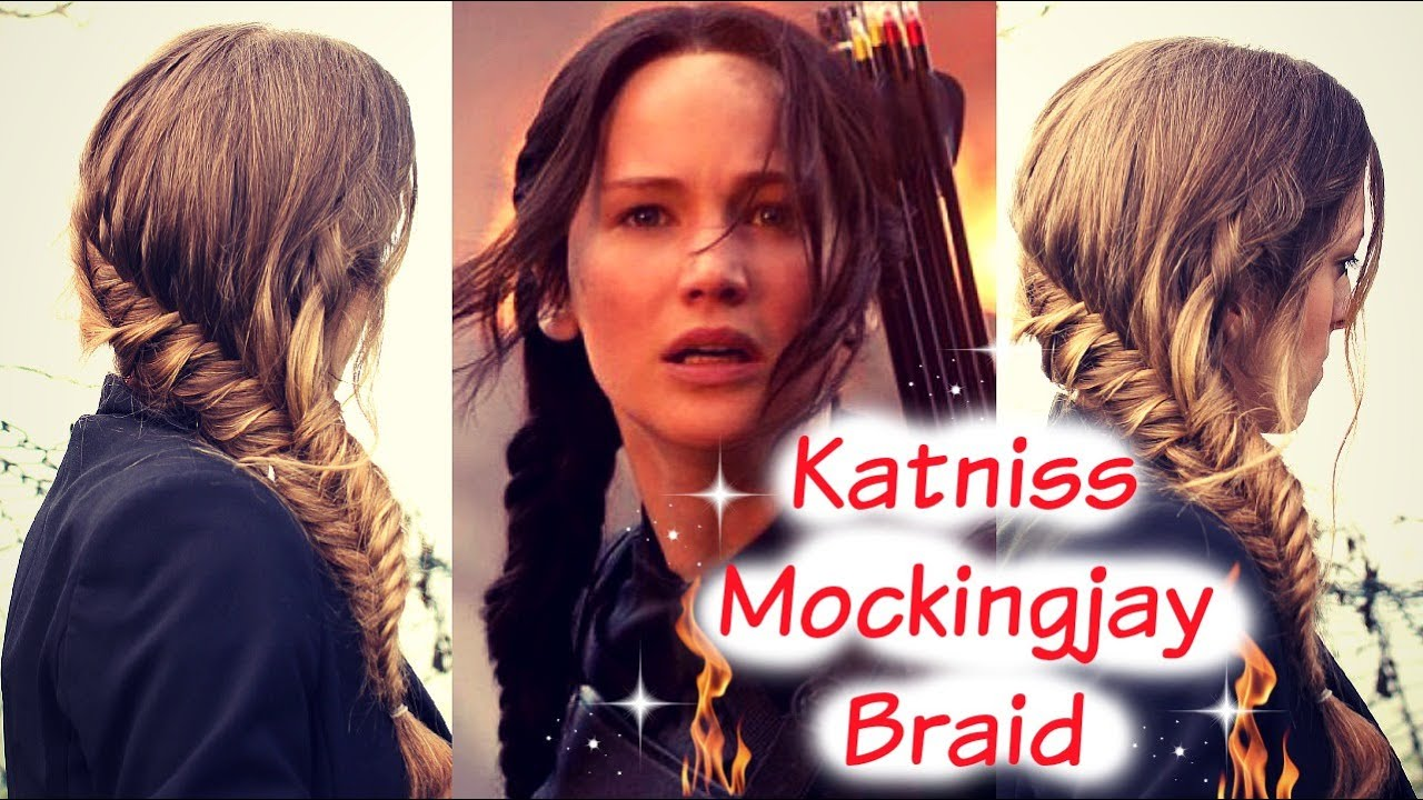 katniss hunger games diy hair tutorial