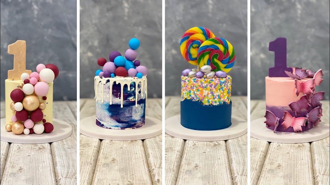 Mini Cakes Design Ideas Youtube