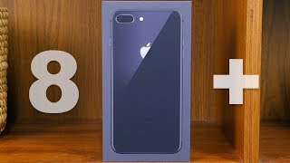 Apple iPhone 8 Plus First Look (Space Gray)