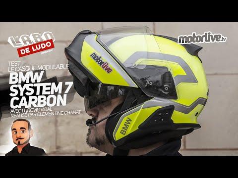 CASQUE BMW SYSTEM 7 CARBON | LE LABO DE LUDO MOTORLIVE