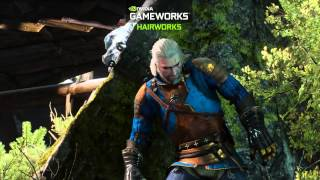 the Witcher 3: Wild Hunt  NVIDIA Shows GameWorks Features FullHD