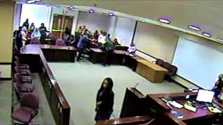 Total Chaos:  A Fight Breaks Out in a Florida Courtroom During Murder Trial