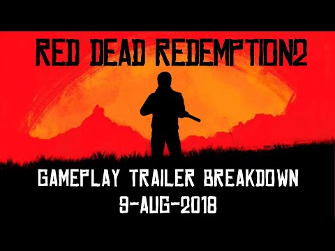 RDR2: Red Dead Redemption Gameplay Trailer Breakdown