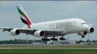 1 Hour+ Plane Spotting at Prague Václav Havel Airport, PRG | Inc A380!