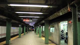 IRT Subway: Manhattan Bound (2) (3) (4) (5) at Nevin St [R62 / R142]