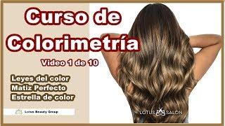Leyes de Colorimetria , Matiz Perfecto y Estrella de Color-  Curso de Colorimetría 1 de 10