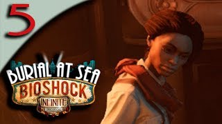 Let's Play Bioshock Infinite Burial At Sea Episode 2 - Part 5 - Daisy, Fink, The Twins