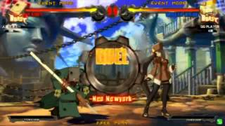 2014/4/10 GGXrd Mikado 2on2 Part 1