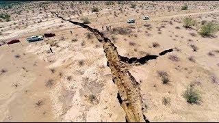 Предвестник мега-землетрясения разлома Сан-Андреас? Землятресение в Мексике и разлом Сан Андреас .