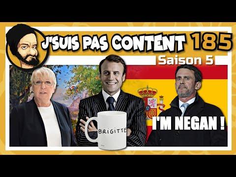 J'SUIS PAS CONTENT ! #185 : Elysée fashion, Travail le dimanche & Valls le lèche-botte ! [Quickie]