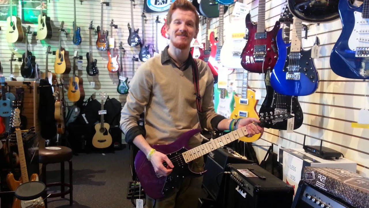 ibanez mikro electric guitar grgm21mmpl youtube