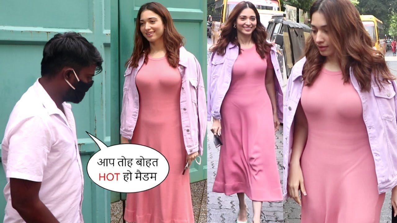 Vishal Action Movie Heroine Tamanna Bhatia Suffers Fashion Disaster!🤦♂️ Recorded In Camera🙄