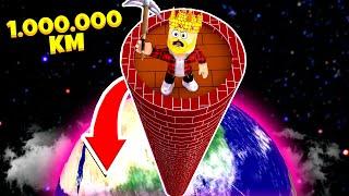 Фото ПОСТРОИЛ САМУЮ ВЫСОКУЮ В МИРЕ БАШНЮ 1.000.000КМ В ВЫСОТУ ROBLOX Tower Master