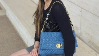 Ways to Wear it: Miu Miu Nappa Cristal Bag
