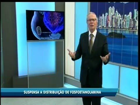 Reportagem Jornal do Meio Dia da RIC TV Record Itajaí sobre câncer