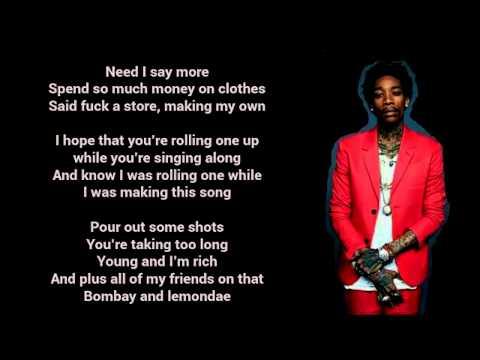 Wiz Khalifa Feat. The Weeknd - Remember You (Lyrics)