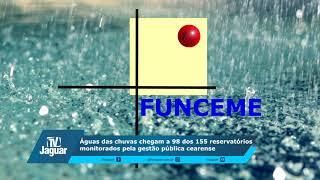 Águas das chuvas chegam a 98 dos 155 reservatórios monitorados pela gestão pública cearense
