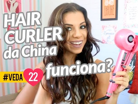 HAIR CURLER DA CHINA FUNCIONA????
