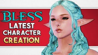 Bless Online Character Creation LATEST of All Races JP OBT Pt 1   Steam Global To Likely Be The Same