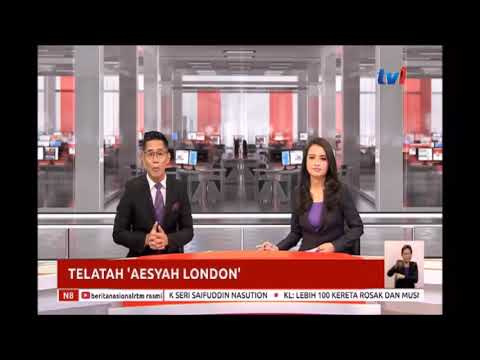 Tv1- TELATAH 'AESYAH LONDON'