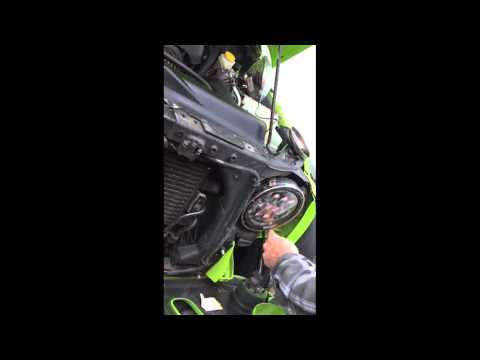 "How to install a Jeep Headlight + DRL, Integrated LED 7"", by Cyron for Jeeps and Harleys"